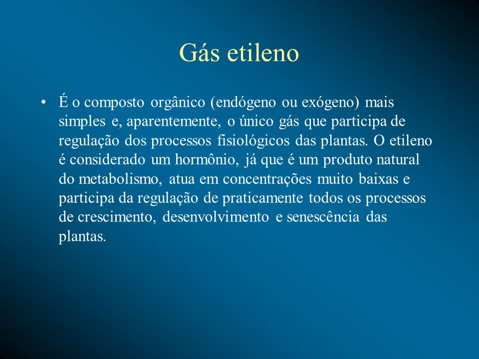 Gás etileno