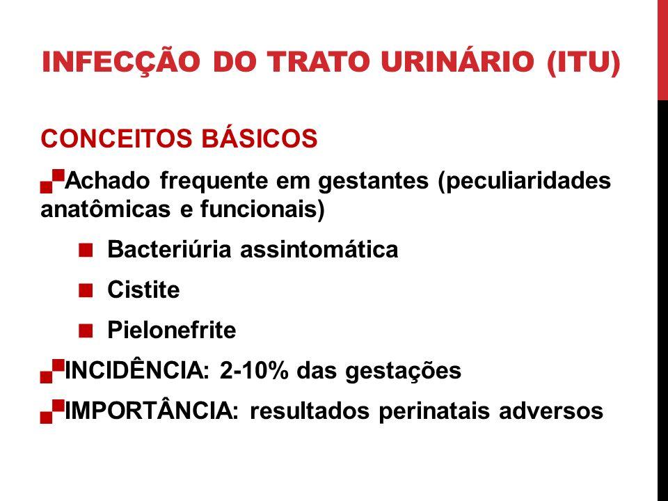 INFECÇÃO DO TRATO URINÁRIO (ITU)