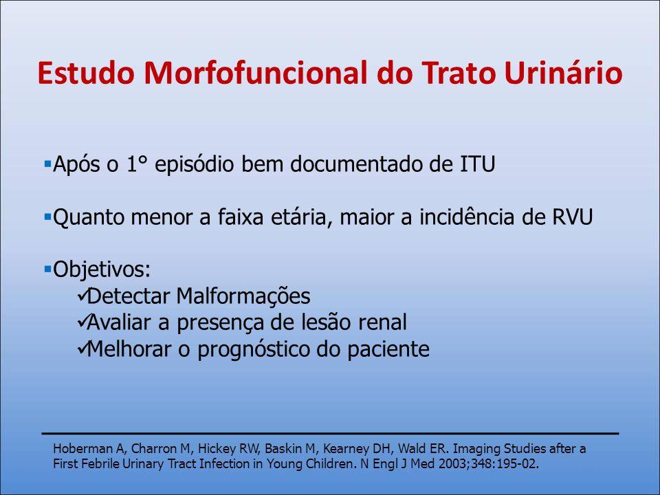 Estudo Morfofuncional do Trato Urinário