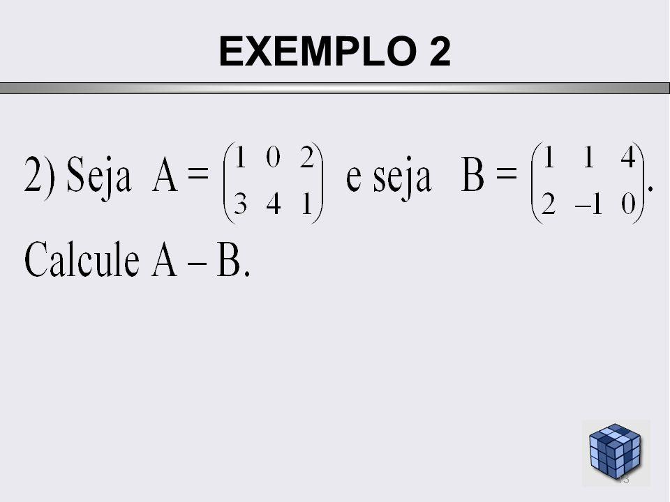 EXEMPLO 2 13