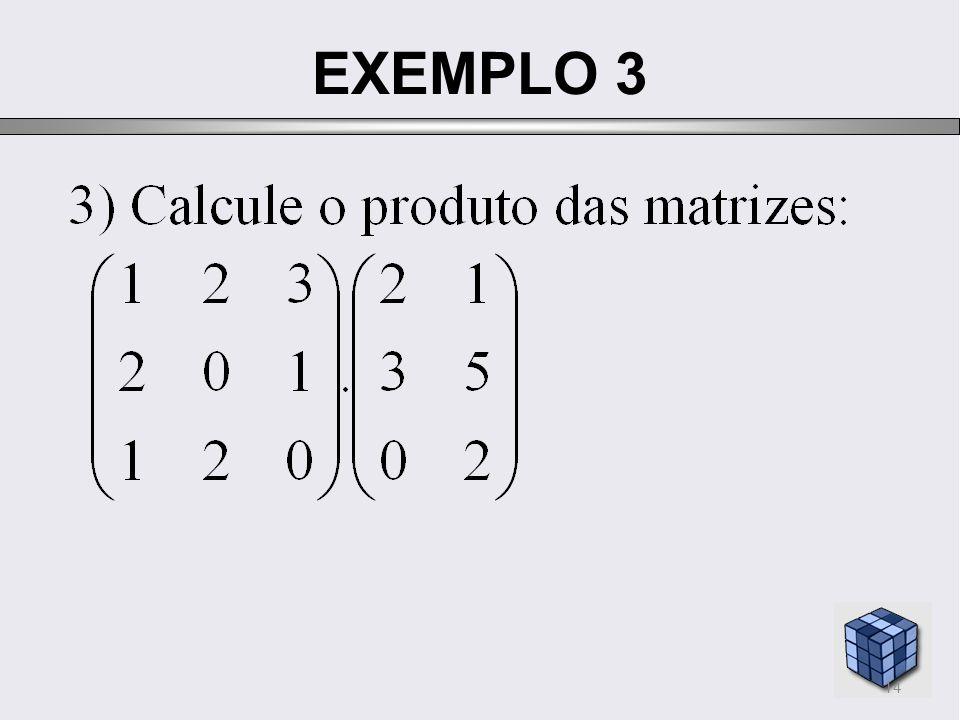 EXEMPLO 3 14