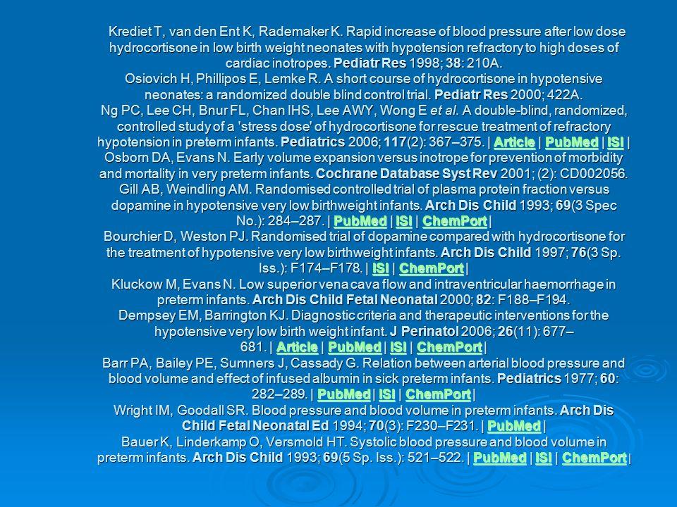 Krediet T, van den Ent K, Rademaker K