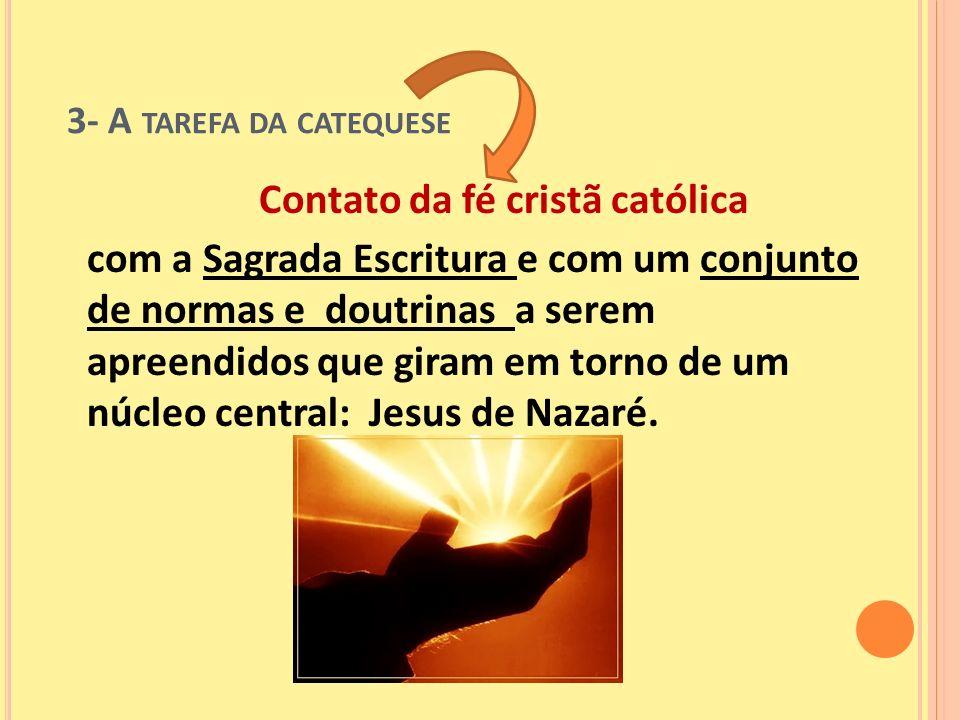 Contato da fé cristã católica