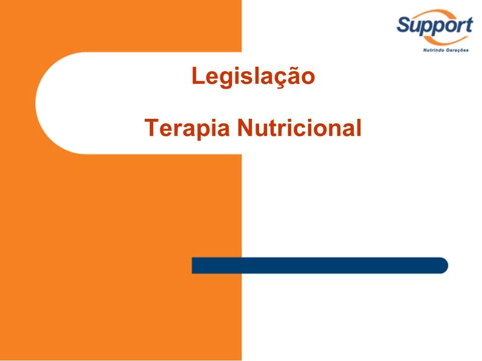 Legislação Terapia Nutricional