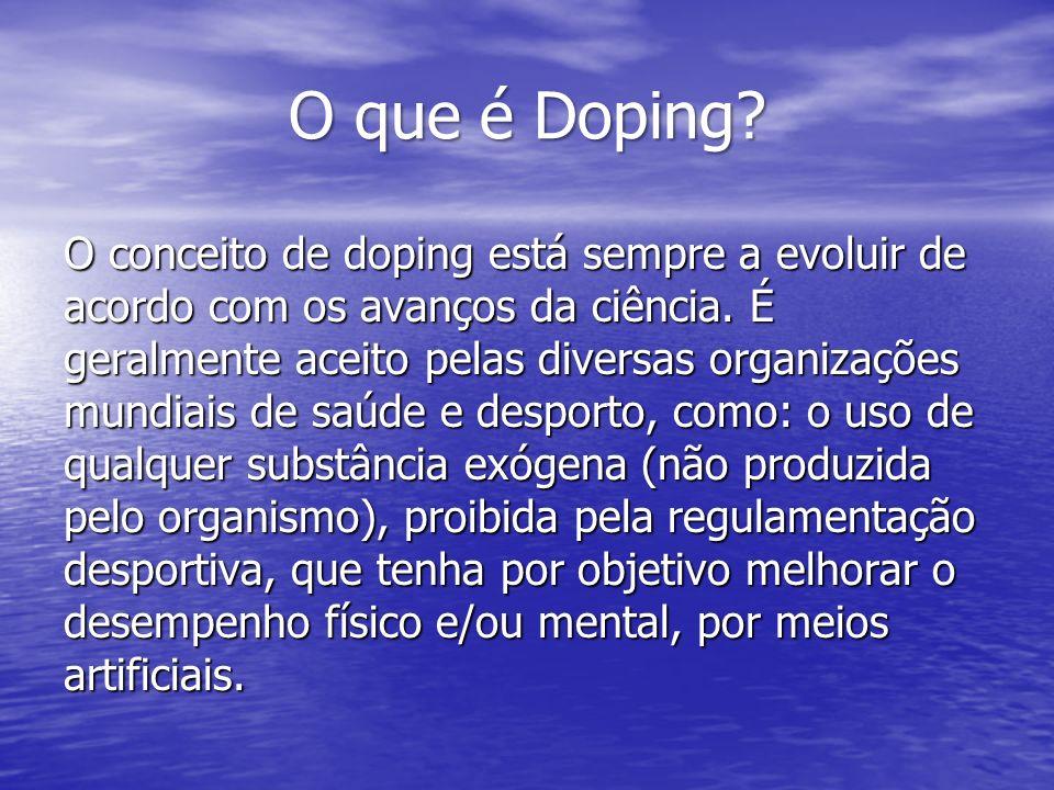 O que é Doping