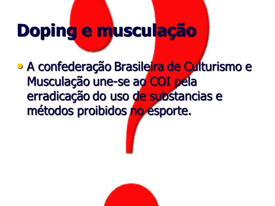 Doping e musculação