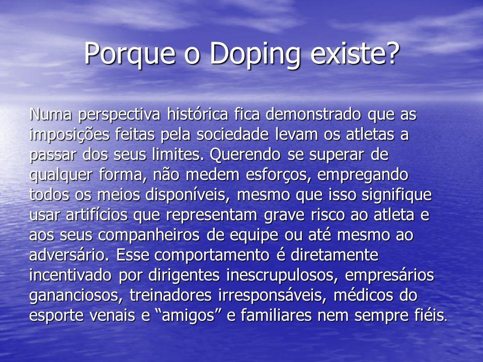 Porque o Doping existe