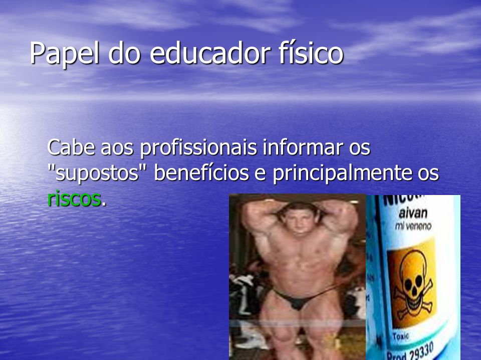 Papel do educador físico