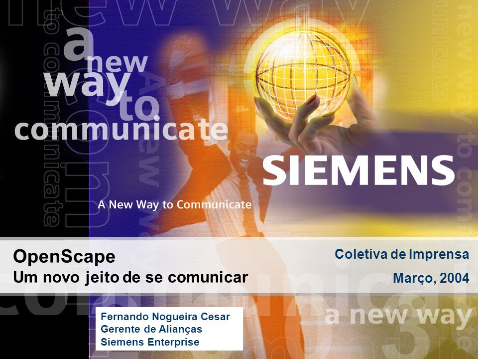OpenScape Um novo jeito de se comunicar