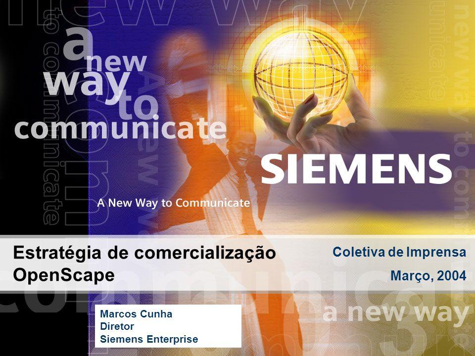 Estratégia de comercialização OpenScape