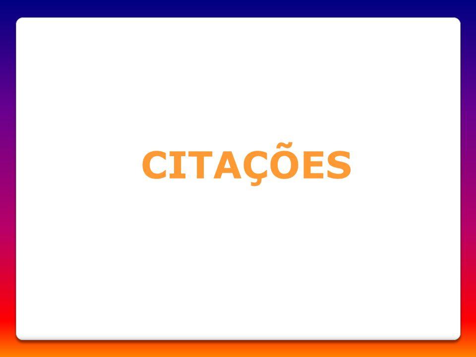 CITAÇÕES