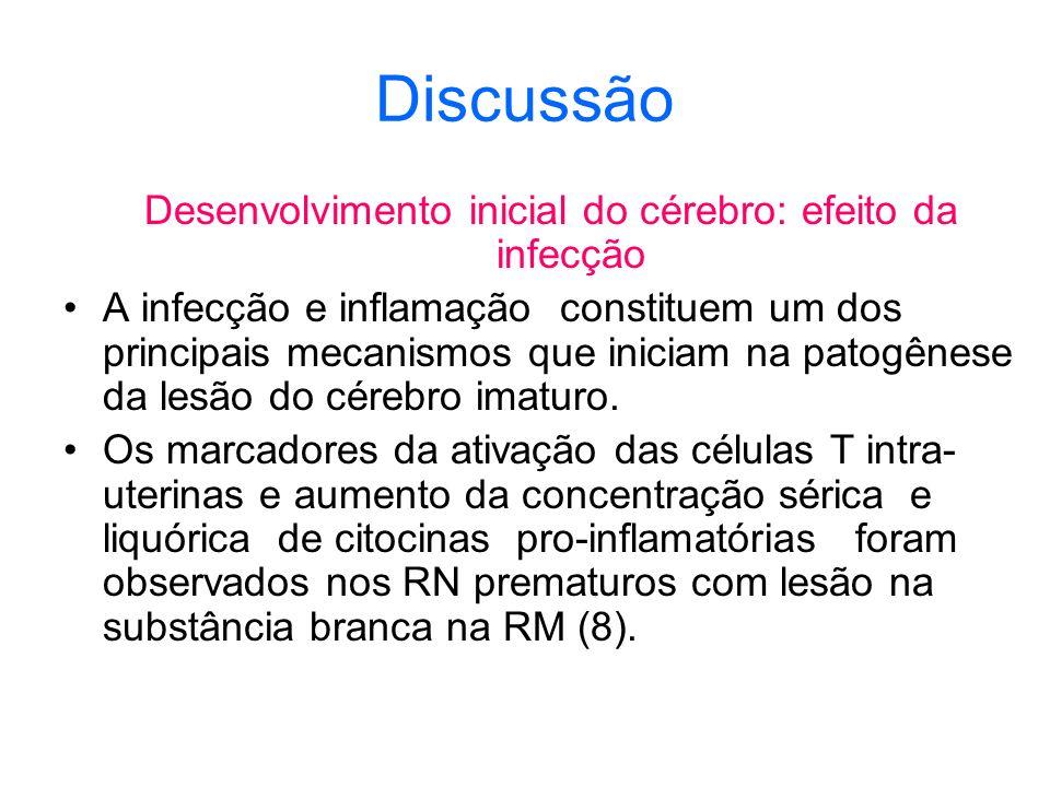 Desenvolvimento inicial do cérebro: efeito da infecção