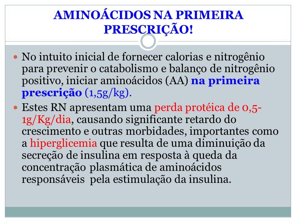 AMINOÁCIDOS NA PRIMEIRA PRESCRIÇÃO!