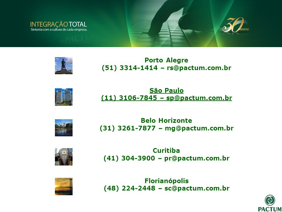 Porto Alegre (51) 3314-1414 – rs@pactum.com.br