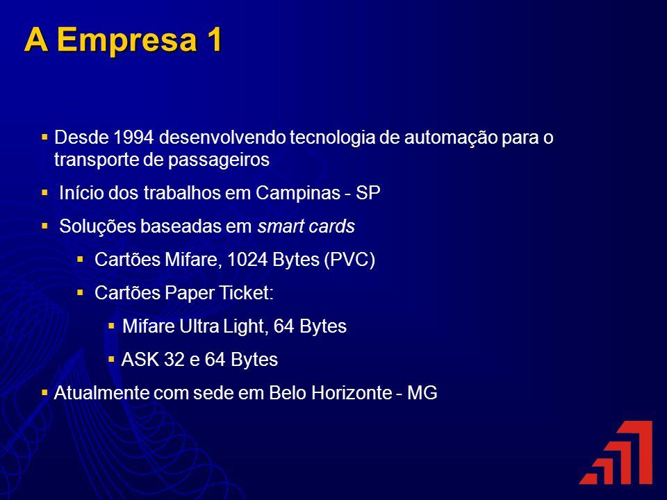 A Empresa 1 Desde 1994 desenvolvendo tecnologia de automação para o transporte de passageiros. Início dos trabalhos em Campinas - SP.