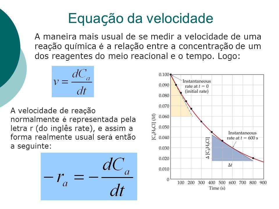 Equação da velocidade