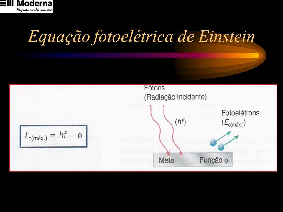 Equação fotoelétrica de Einstein