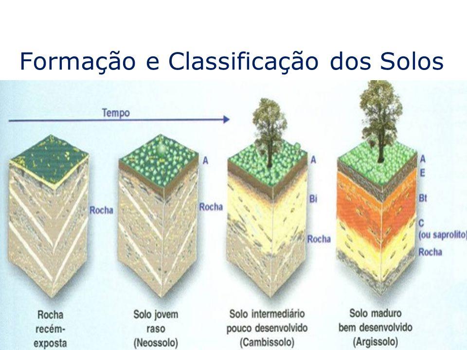 Formação e Classificação dos Solos