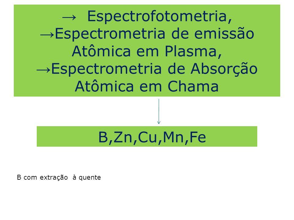 Espectrometria de emissão Atômica em Plasma,