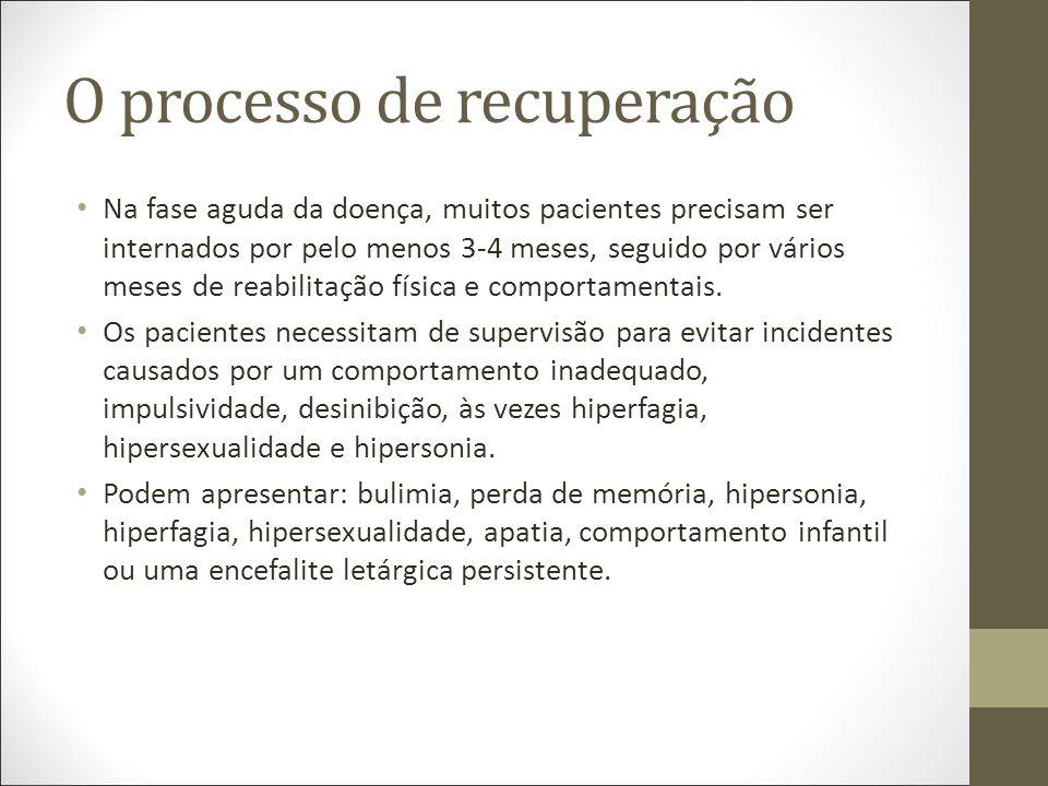 O processo de recuperação