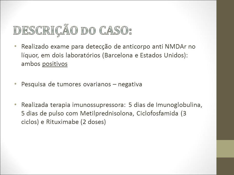 DESCRIÇÃO DO CASO: