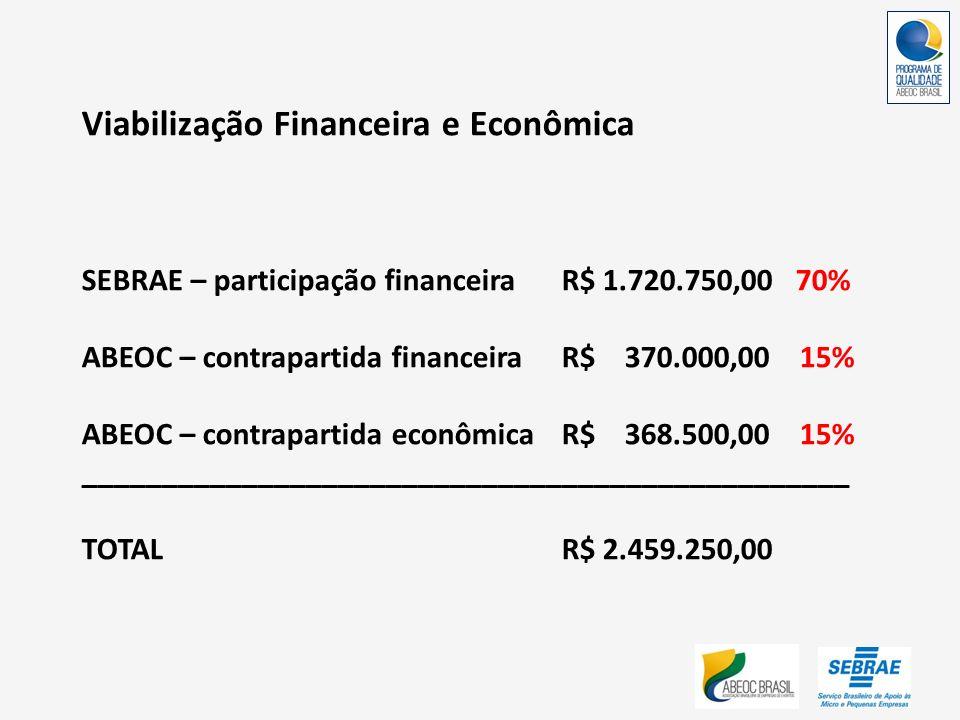 Viabilização Financeira e Econômica
