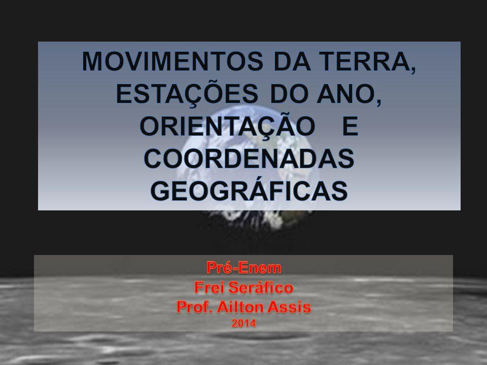MOVIMENTOS DA TERRA, ESTAÇÕES DO ANO,