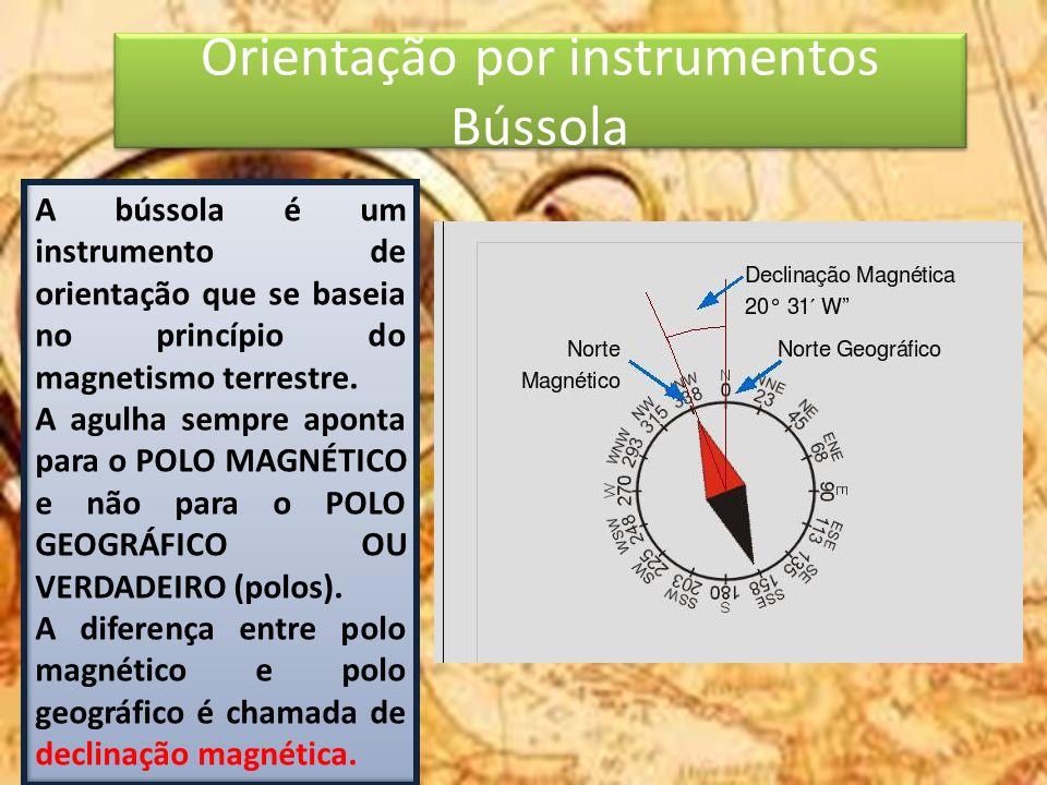 Orientação por instrumentos Bússola