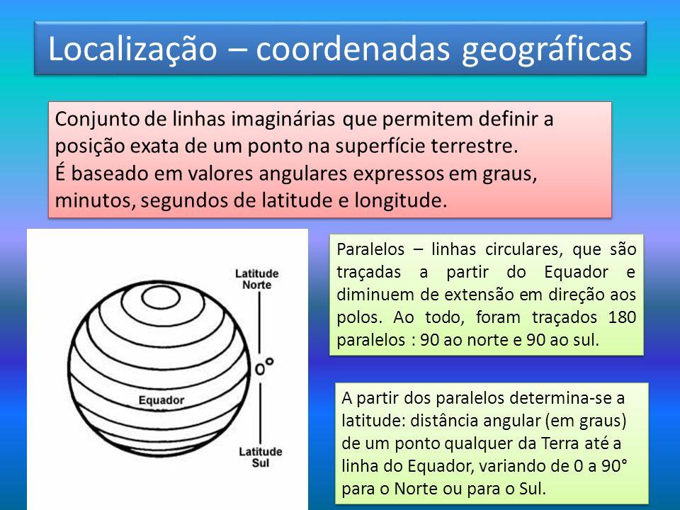 Localização – coordenadas geográficas
