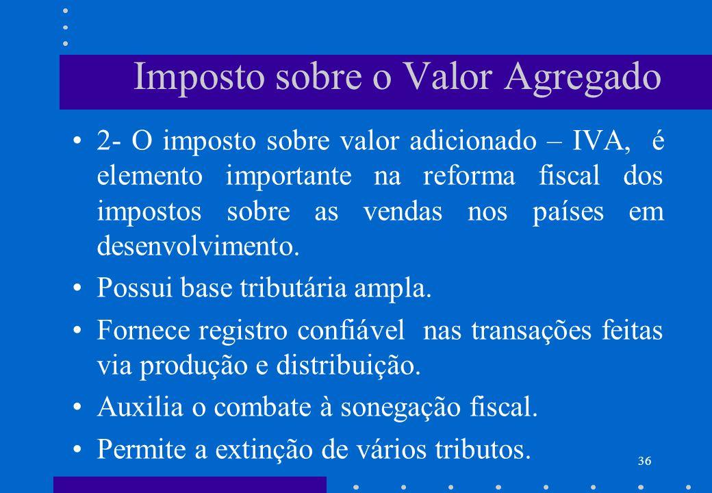 Imposto sobre o Valor Agregado
