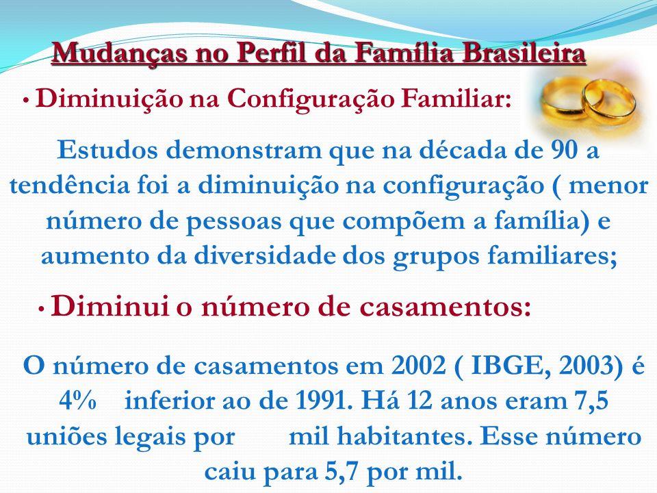 Mudanças no Perfil da Família Brasileira