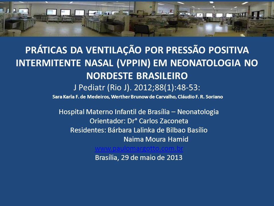 Hospital Materno Infantil de Brasília – Neonatologia