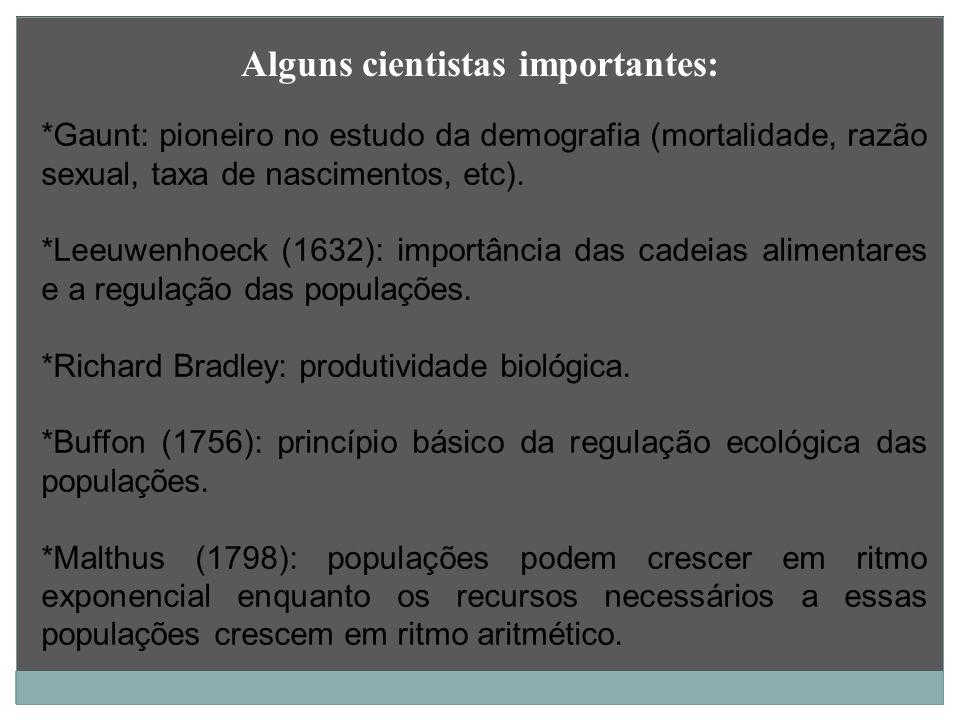 Alguns cientistas importantes: