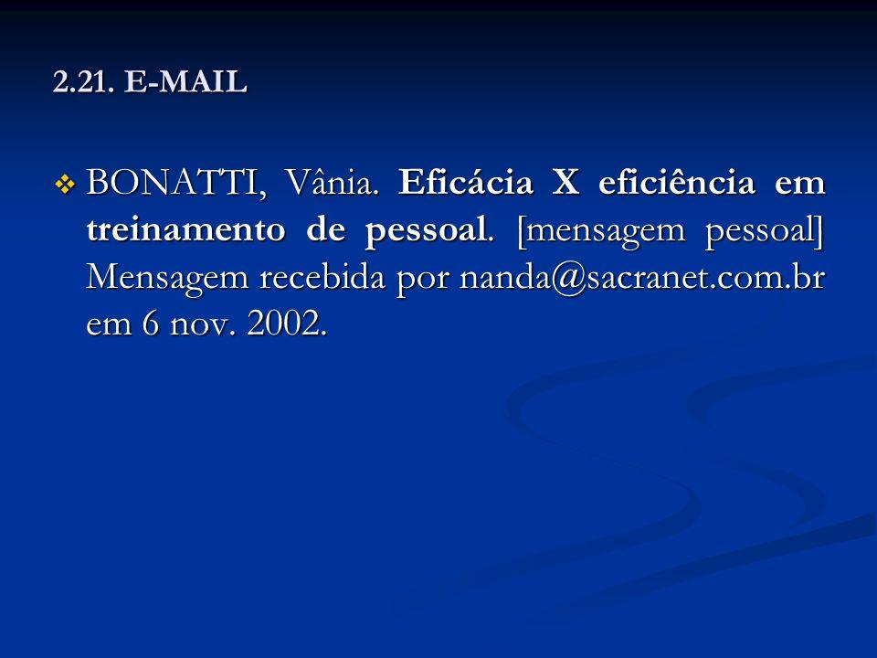 2.21. E-MAIL