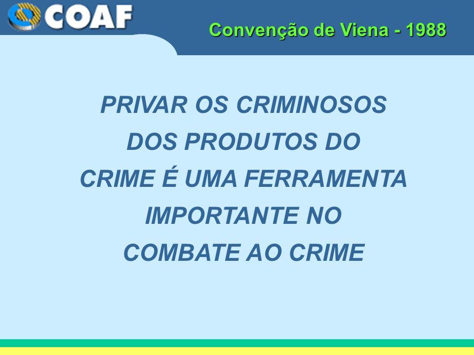 PRIVAR OS CRIMINOSOS DOS PRODUTOS DO CRIME É UMA FERRAMENTA