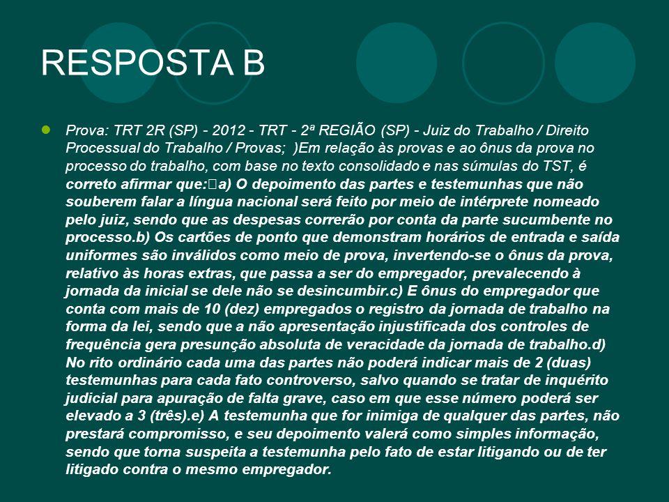 RESPOSTA B