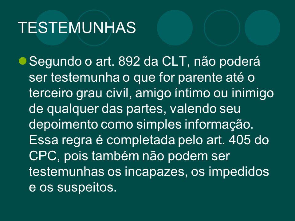 TESTEMUNHAS