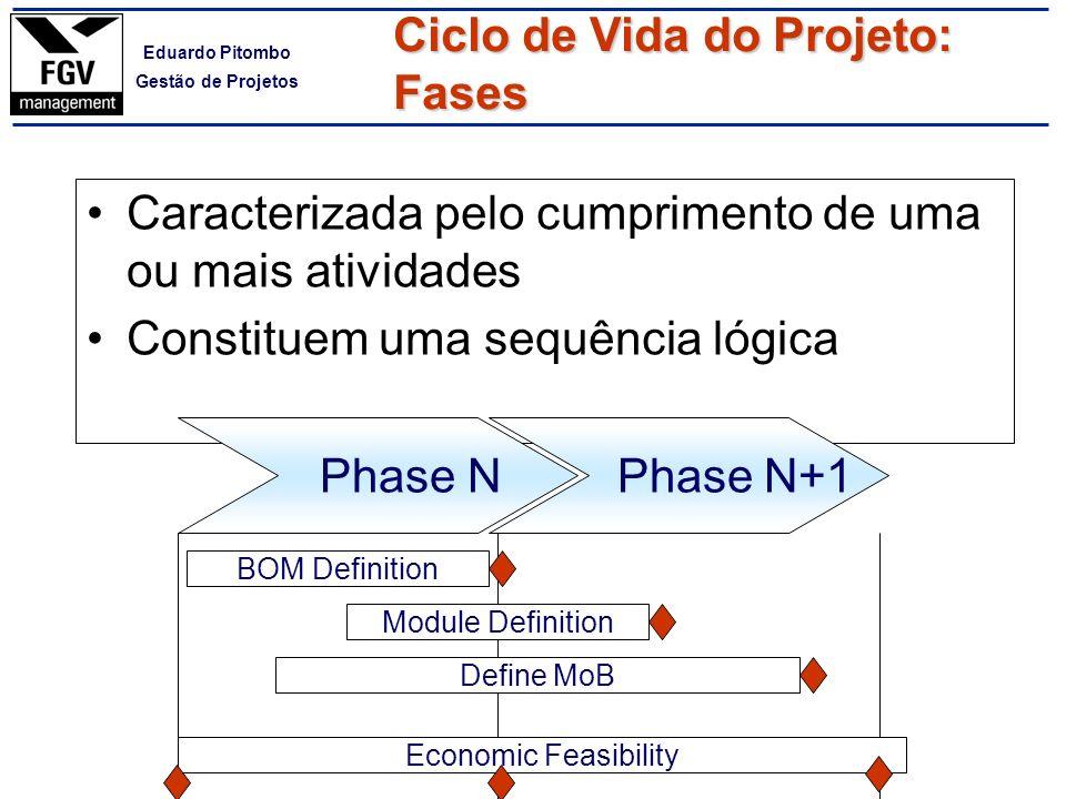 Ciclo de Vida do Projeto: Fases