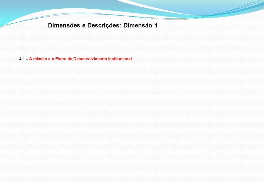 Dimensões e Descrições: Dimensão 1