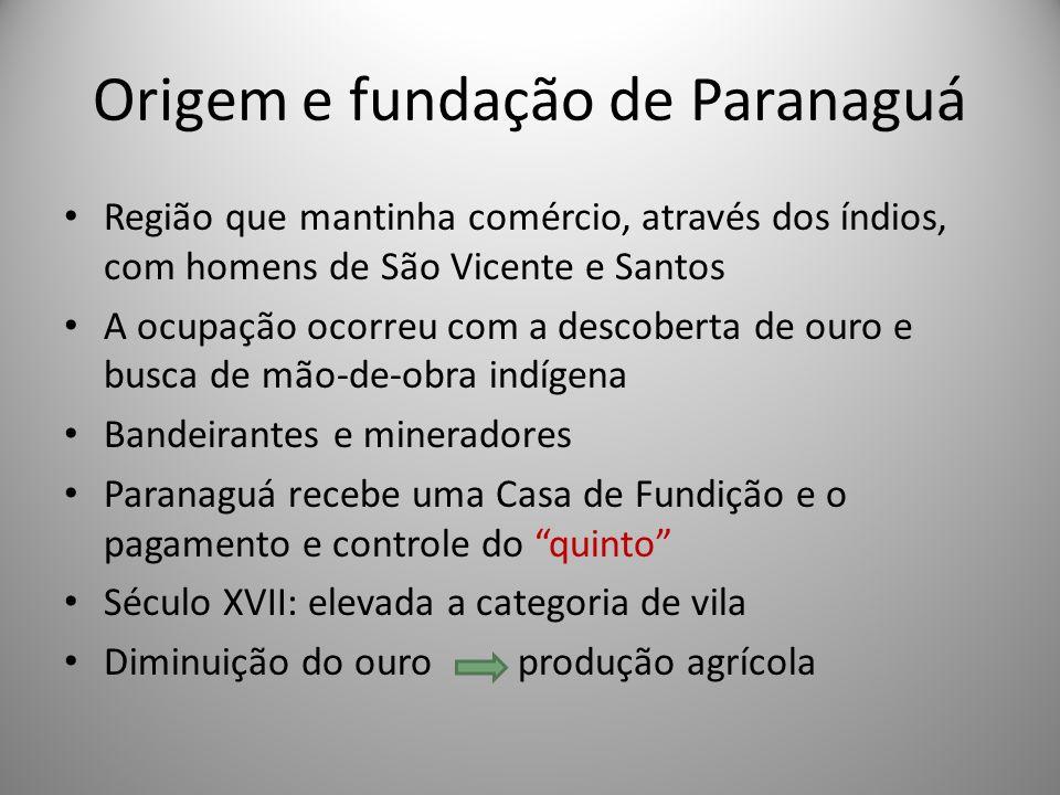 Origem e fundação de Paranaguá