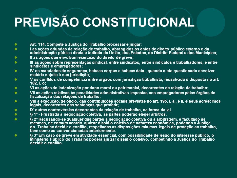 PREVISÃO CONSTITUCIONAL