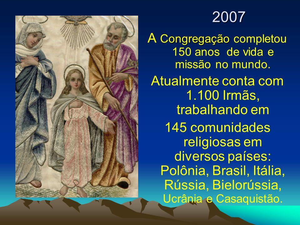 A Congregação completou 150 anos de vida e missão no mundo.
