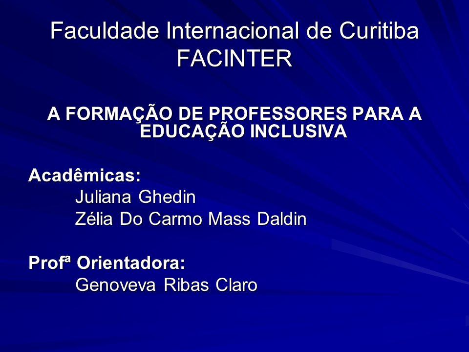 Faculdade Internacional de Curitiba FACINTER