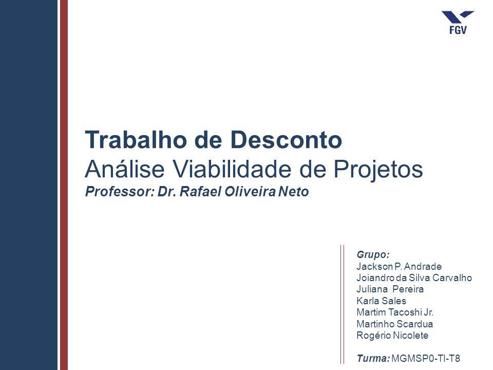 Análise Viabilidade de Projetos