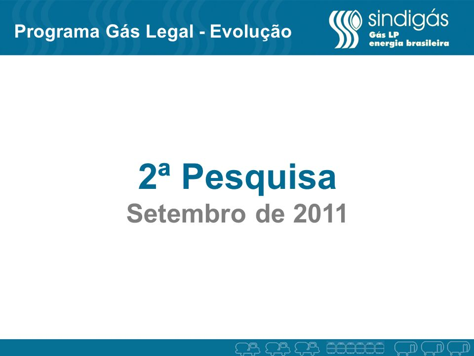 Programa Gás Legal - Evolução