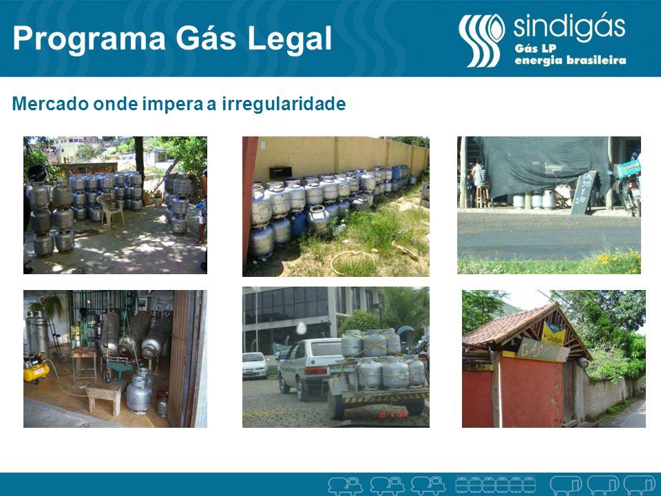 Programa Gás Legal Mercado onde impera a irregularidade 4