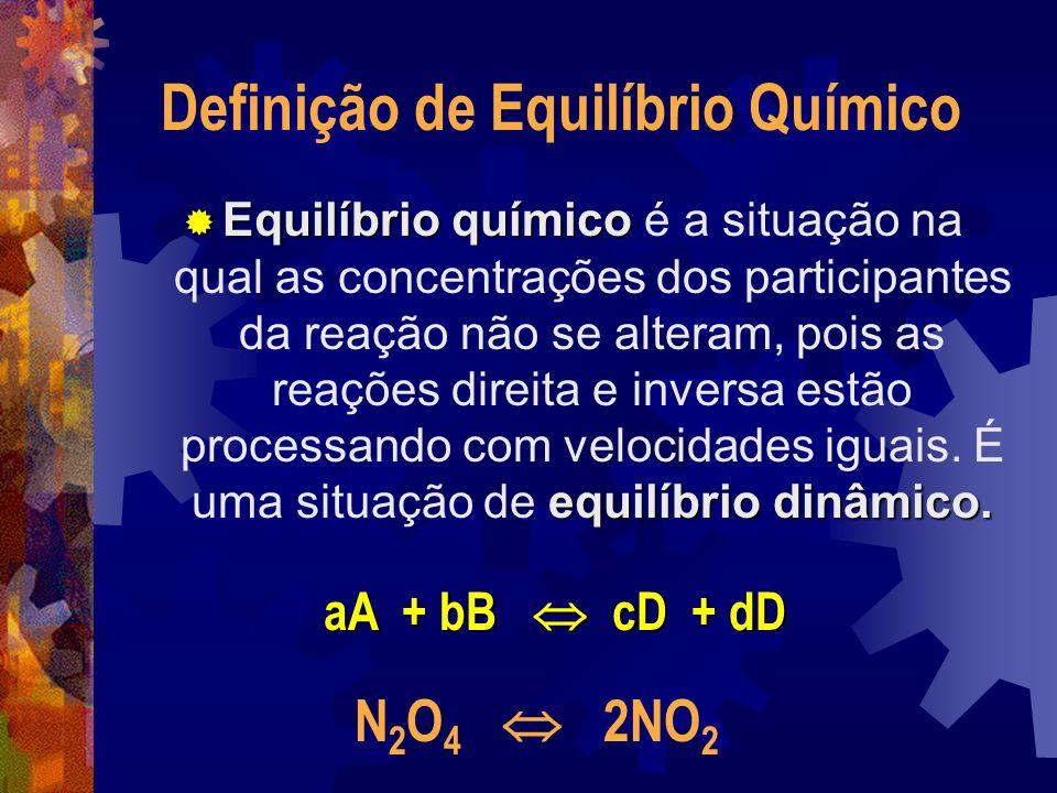 Definição de Equilíbrio Químico