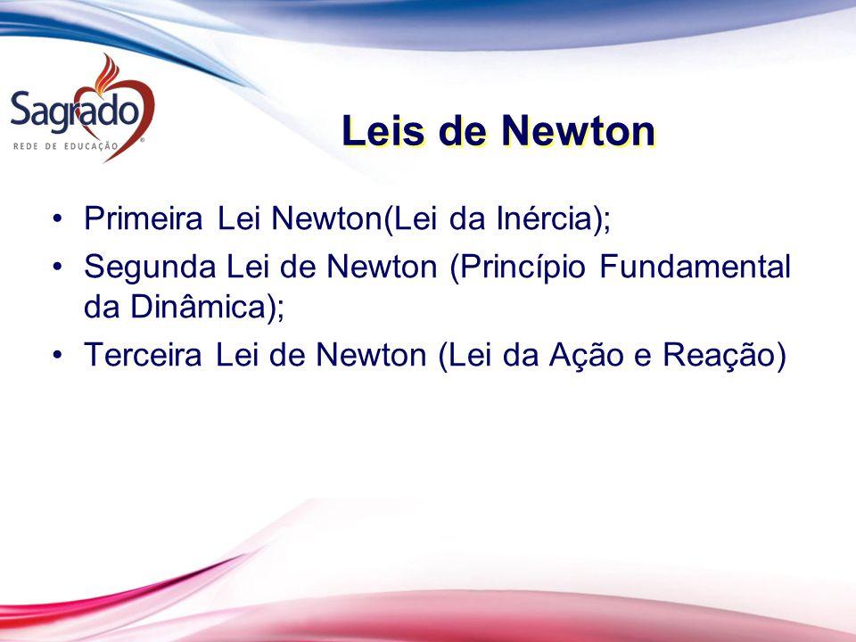 Leis de Newton Primeira Lei Newton(Lei da Inércia);