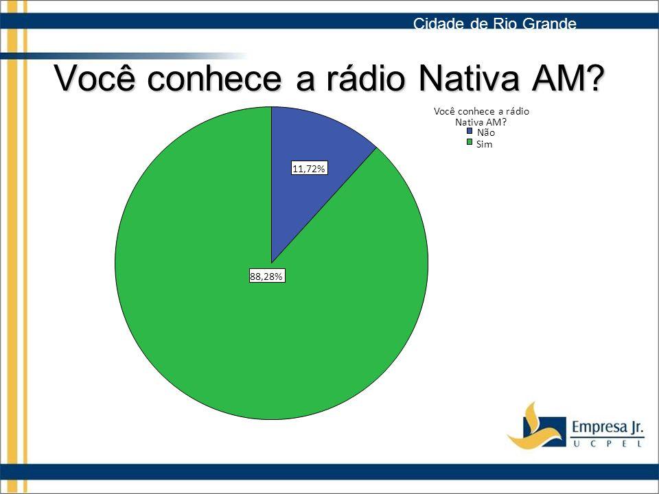 Você conhece a rádio Nativa AM
