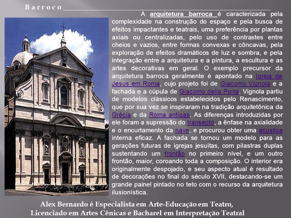 Alex Bernardo é Especialista em Arte-Educação em Teatro,